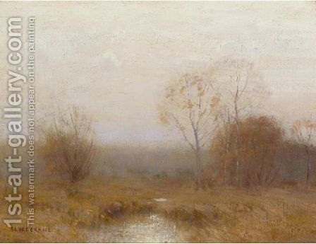 Grey November by Bruce Crane - Reproduction Oil Painting