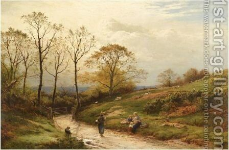 Mead Vale, Surrey by Sidney Richard Percy - Reproduction Oil Painting