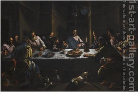 The Last Supper by (after) Leandro Bassano - Reproduction Oil Painting