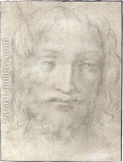 The Head Of Christ by (after) Agnolo Bronzino - Reproduction Oil Painting