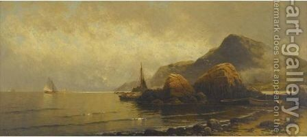 Rocky Coast 3 by Alfred Thompson Bricher - Reproduction Oil Painting