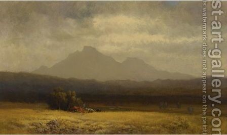 Tomorrow, Sacramento by Harvey Otis Young - Reproduction Oil Painting