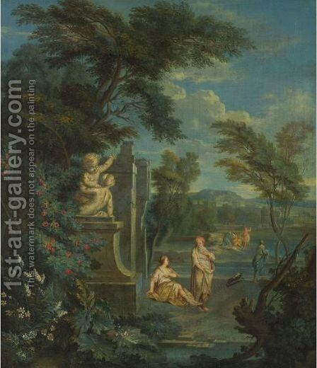 Classical Figures by Aelbert Meyeringh - Reproduction Oil Painting