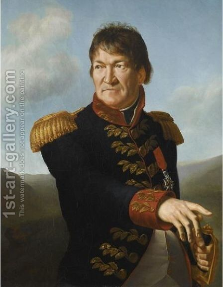 Portrait Of Baron Segoing De Laborde by Antoine-Jean Gros - Reproduction Oil Painting