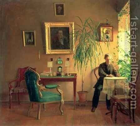 Interior 2 by Aleksei Alekseevich Bobrov - Reproduction Oil Painting