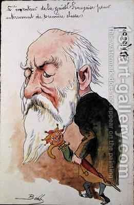 Caricature of Henri Brisson (1835-1912) by Bobb - Reproduction Oil Painting