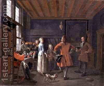 Dancing to a Duet by Maximilian Blommaerdt - Reproduction Oil Painting
