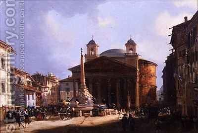 The Pantheon, Rome by Elizabeth Hunter Blair - Reproduction Oil Painting
