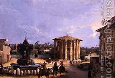 The Temple of Vesta, Rome by Elizabeth Hunter Blair - Reproduction Oil Painting
