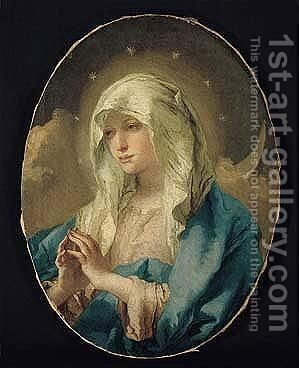 The 'Immacolata' by Giovanni Domenico Tiepolo - Reproduction Oil Painting