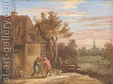 Untitled by (after)  David The Younger Teniers - Reproduction Oil Painting