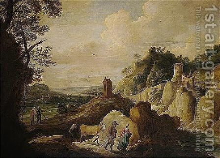 Antwerp 1610-1690 Brussels by David The Younger Teniers - Reproduction Oil Painting