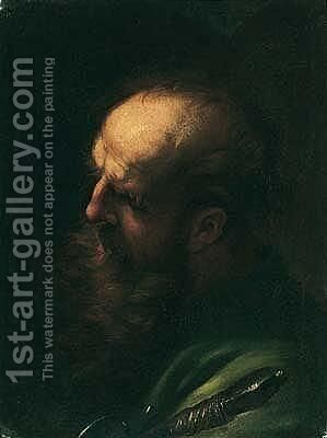 Saint Paul by (after) Andrea Sacchi - Reproduction Oil Painting