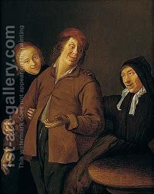 The Procuress by Jan Miense Molenaer - Reproduction Oil Painting