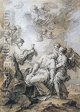 The Agony In The Garden by Carle van Loo - Reproduction Oil Painting