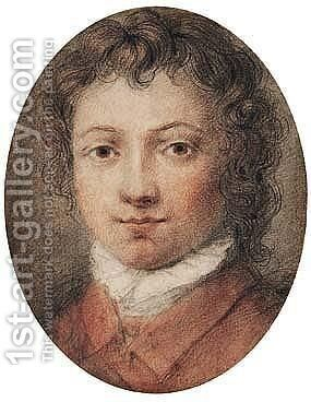 Portrait of a boy by Italian School - Reproduction Oil Painting