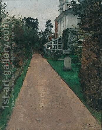 The Garden by James Jacques Joseph Tissot - Reproduction Oil Painting