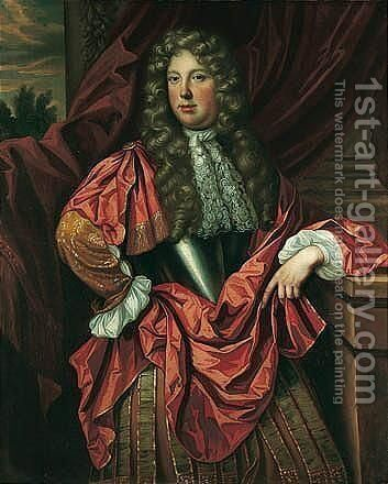 Portrait Of A Gentleman by (after) Samuel King - Reproduction Oil Painting