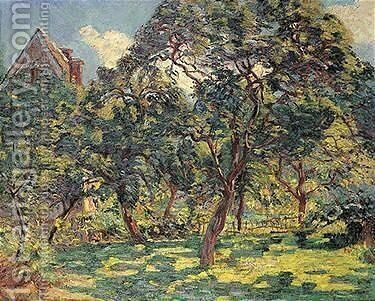 Le Prunier by Armand Guillaumin - Reproduction Oil Painting