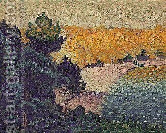 Paysage 5 by Henri Edmond Cross - Reproduction Oil Painting