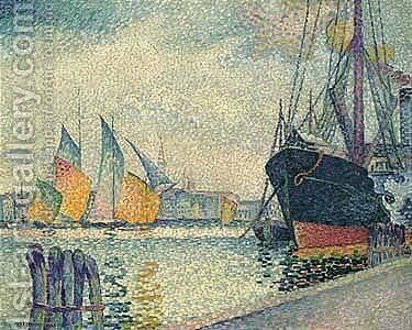 Untitled by Henri Edmond Cross - Reproduction Oil Painting