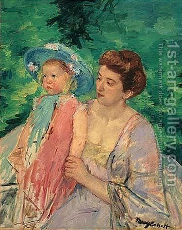 Untitled 3 by Mary Cassatt - Reproduction Oil Painting