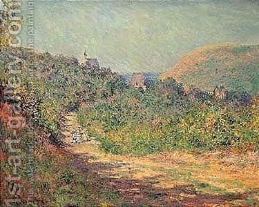Aux Petites-dalles by Claude Oscar Monet - Reproduction Oil Painting
