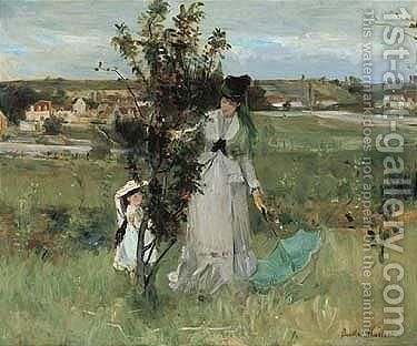 Untitled by Berthe Morisot - Reproduction Oil Painting