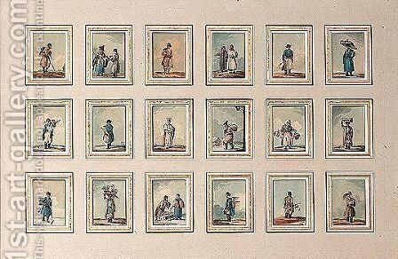 Watercolour And Ink On Paper (18) by Carl Ivanovitch Kollmann - Reproduction Oil Painting