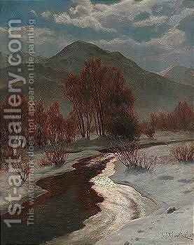 The spirit of winter by Ivan Fedorovich Choultse - Reproduction Oil Painting