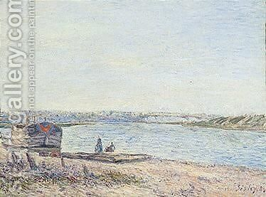 Untitled by Alfred Sisley - Reproduction Oil Painting