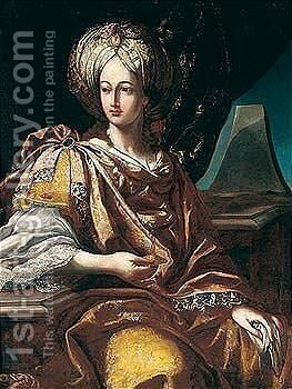 Artemisia by Milanese School - Reproduction Oil Painting