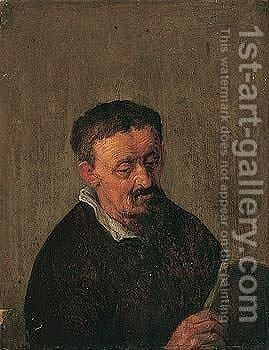 Untitled by (after) Adriaen Jansz. Van Ostade - Reproduction Oil Painting