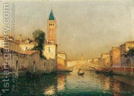 La Giudecca, Venise by Antione Bouvard - Reproduction Oil Painting