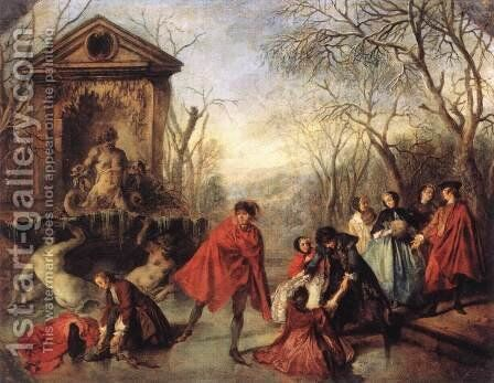 Allegory Of Winter by Bartolomeo Ammanati - Reproduction Oil Painting