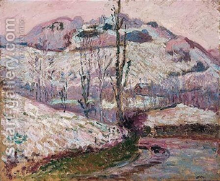 Paysage 5 by Armand Guillaumin - Reproduction Oil Painting