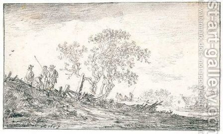 Untitled 5 by Jan van Goyen - Reproduction Oil Painting