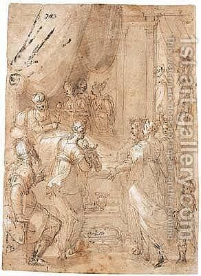 Untitled by Giovanni Balducci - Reproduction Oil Painting