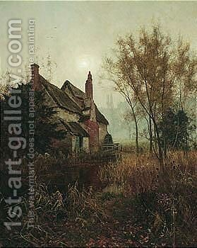 Reposing In Decay Serene by Edward Wilkins Waite - Reproduction Oil Painting