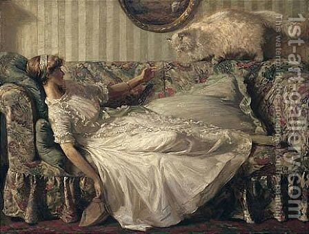 Untitled by Charles Ward - Reproduction Oil Painting