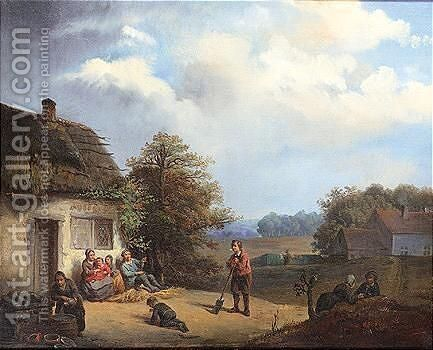 Untitled 4 by Dutch School - Reproduction Oil Painting