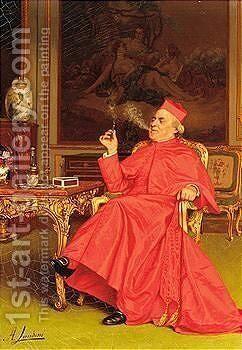Untitled by Andrea Landini - Reproduction Oil Painting