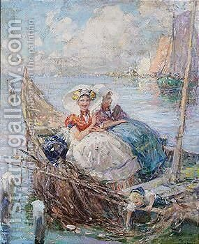 Untitled by Achille (Formis) Befani - Reproduction Oil Painting