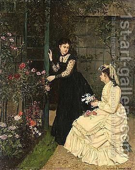 Untitled by Camille-Leopold Cabaillot-Lasalle - Reproduction Oil Painting