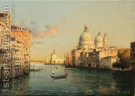 Venice by Antione Bouvard - Reproduction Oil Painting