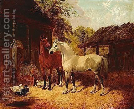 Untitled by (after) Herring Snr, John Frederick - Reproduction Oil Painting