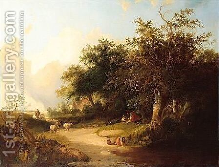 Untitled by Henry John Boddington - Reproduction Oil Painting