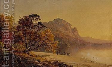 Landscape 2 by Jasper Francis Cropsey - Reproduction Oil Painting