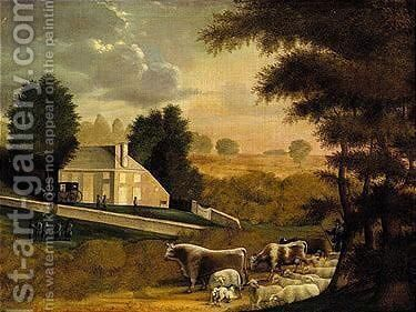 Buckinghamshire by Edward Hicks - Reproduction Oil Painting