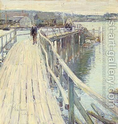 Gloucester 1894 by Frederick Childe Hassam - Reproduction Oil Painting
